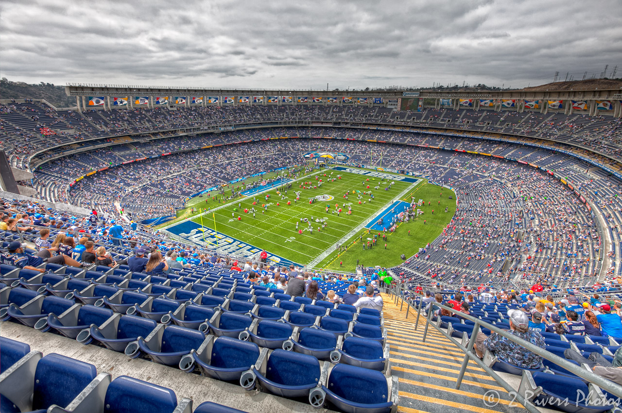 Qualcomm Stadium 2 Rivers Photos