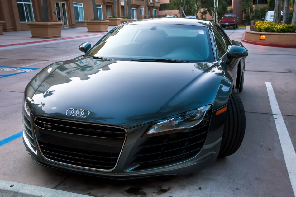 Front of R8