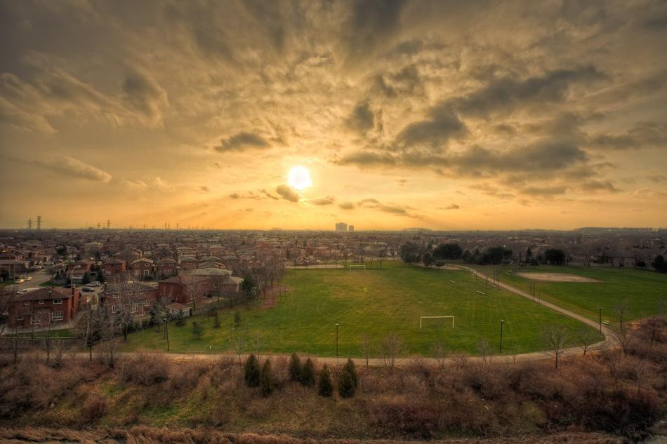 Mississauga soccer field